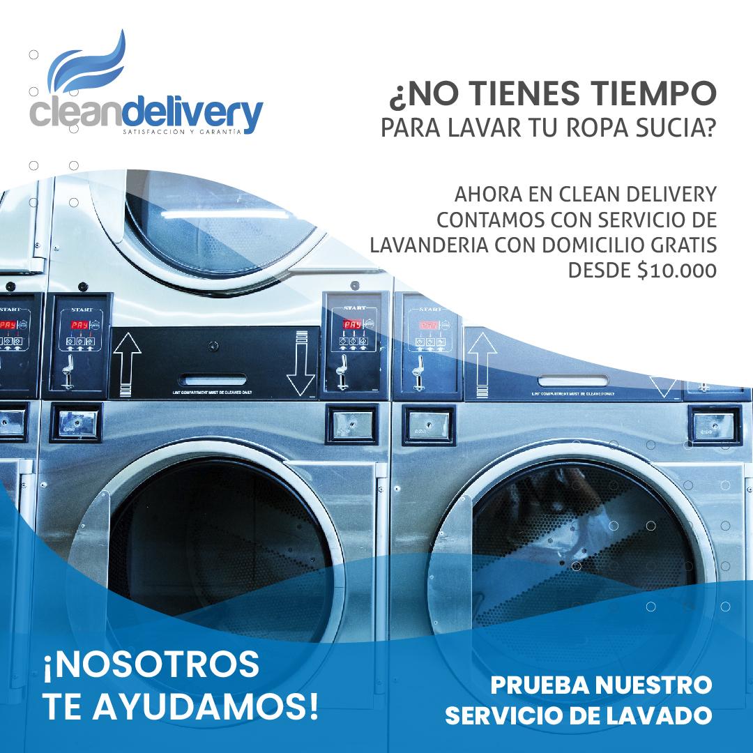 Lavanderia a domicilio-Bogota